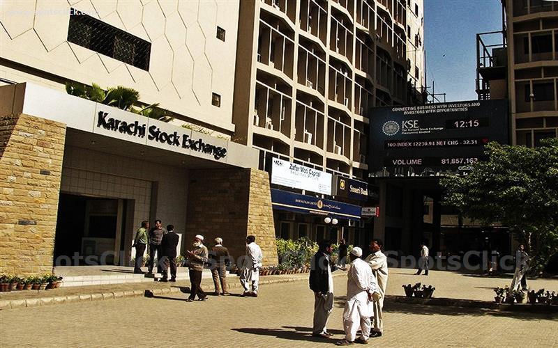 Karachi Stock Exchange Image