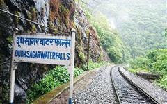 Pics of Dudhsagar Waterfall