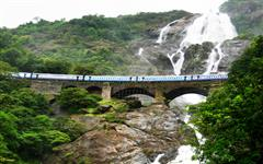 Gallery of Dudhsagar Waterfall