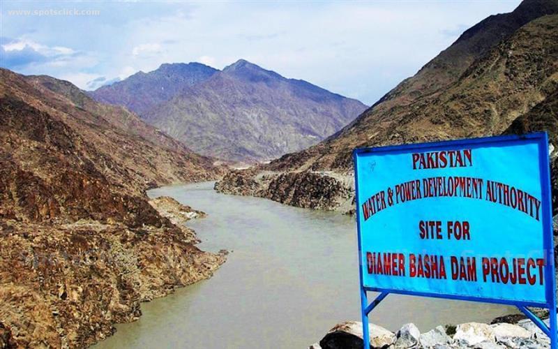Picture of Diamer Bhasha Dam